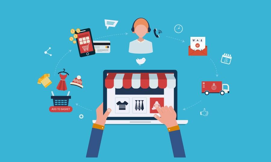 e-commerce-process