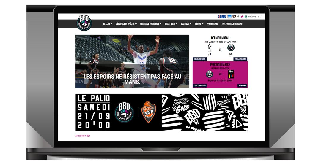 Boulazac Basket Dordogne référence Cogitime