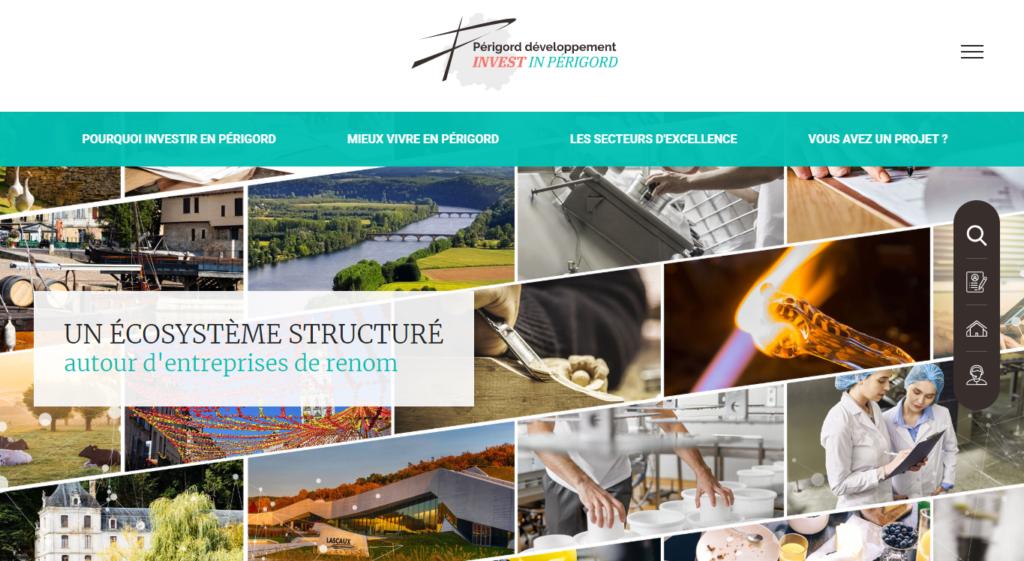 Nouveau Site Internet Périgord-Développement