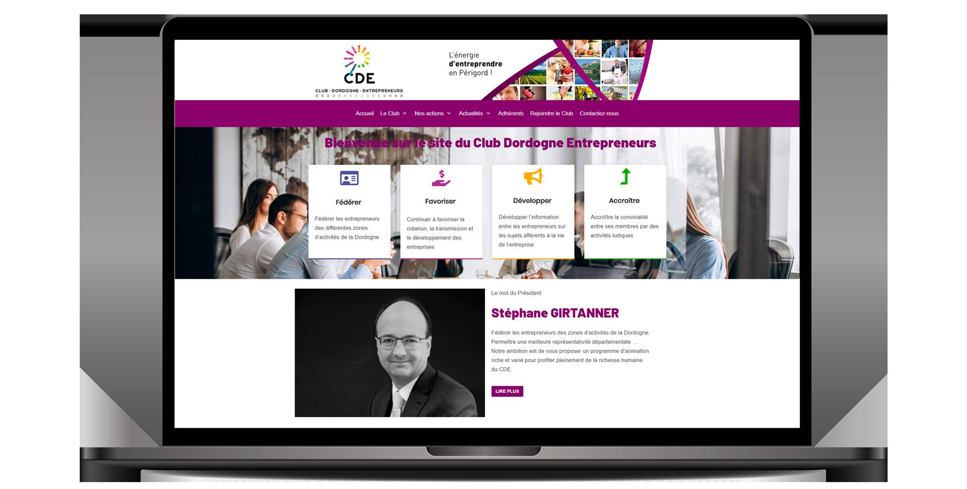 Club Dordogne entrepreneur