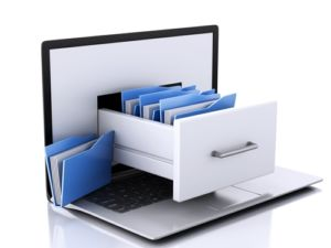stockage des documents à étudier lors d'un diagnostic interne